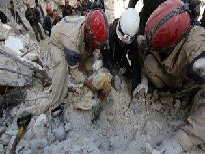 Rejim Halep ve Duma'yı Vuruyor