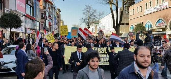 AK Parti Gençlik Kollarından 183 İdam Kararına Protesto