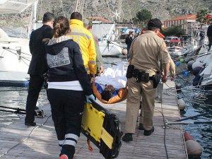 Muğla'da Göçmenleri Taşıyan Tekne Battı