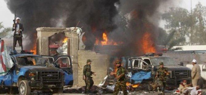 Irak'ta Askeri Araca Bombalı Saldırı: 9 Ölü