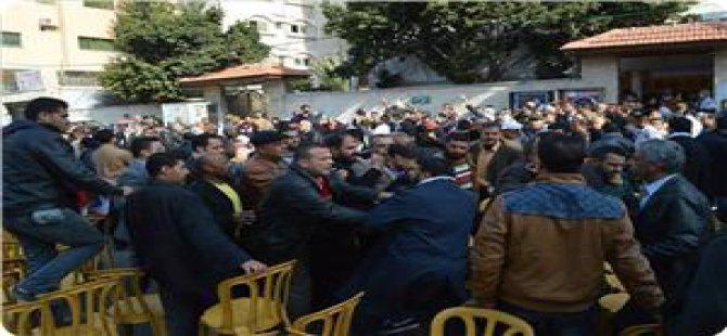Halk Cephesi ve Fetih Üyeleri Yumruk Yumruğa Kavga Etti