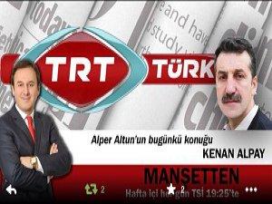 Kenan Alpay, Bu Akşam TRT Türk'te