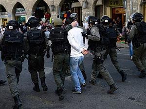 Batı Şeria'da 13 Filistinliye Gözaltı