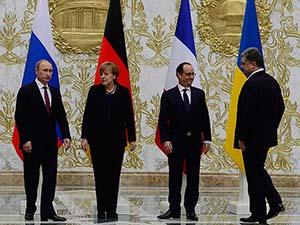 Minsk'teki Zirveden Ateşkes Çıktı