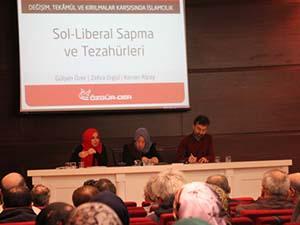 """""""Sol-Liberal Sapma ve Tezahürleri"""" Paneli Yapıldı"""