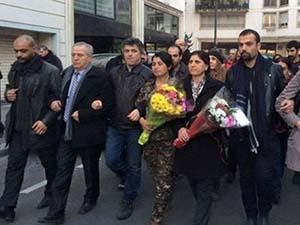 PYD Heyetinden Charlie Hebdo'ya Ziyaret!