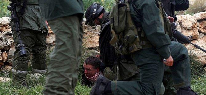 İsrail Güçleri  Filistinli Göstericilere Saldırdı
