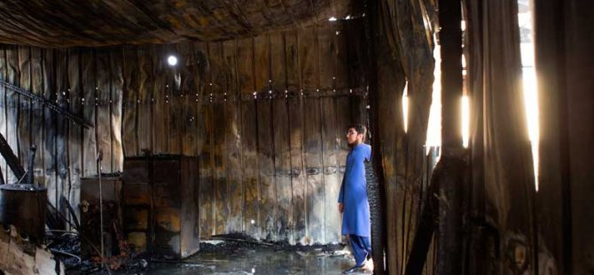 Teksas'taki İslam Enstitüsü'nde Yangın
