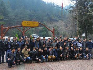 Özgür Üniversiteli Gençliği Osmaniye'de Kamp Yaptı