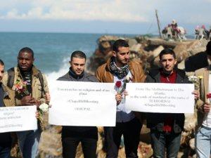 Gazze'den Müslüman Gençlerin Öldürülmesine Protesto