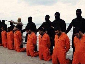 IŞİD 21 Mısırlı Kıpti'yi Libya'da Öldürdü