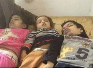 Mısır Bombardımanında Çocuklar Katledildi! (VİDEO)
