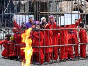 Suriyeli Çocuklar: İlla Kafesler İçerisinde Yakılmamız mı Lazım?