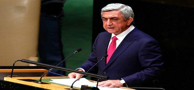 Sarkisyan Türkiye Protokollerini Geri Çekti