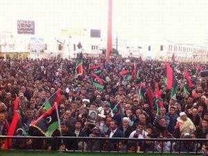 Libya Halkı Devrimi Sahiplenmede Kararlı