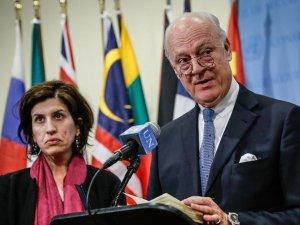 BM'ye Halep'e Hava Saldırılarına 6 Hafta Ara Sözü