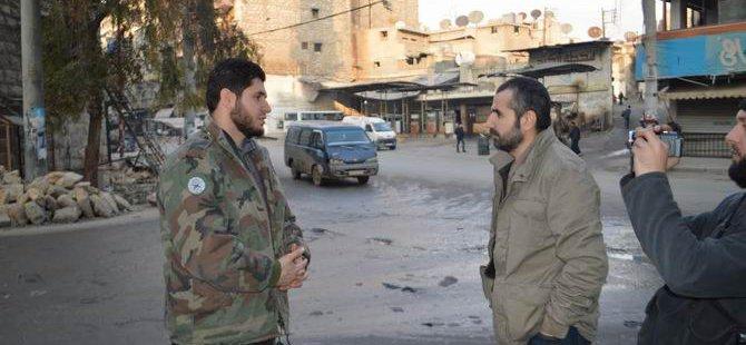 Halep'te Mücahidler Esed Mevzilerini Vuruyor