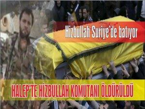 Halep'te Bir Hizbullah Komutanı Daha Öldürüldü