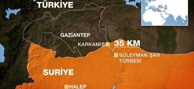 TSK'dan Süleyman Şah Operasyonu