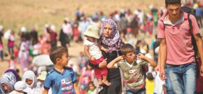 'Türkiye'de Sığınmacı Sayısı 2 Milyon 225 Bin 147'