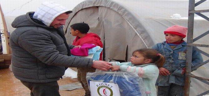 """""""Suriyeli Kardeşim Üşümesin"""" Kampanyası Devam Ediyor"""