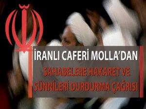 İranlı Molla'dan Sünnileri Durdurma Çağrısı