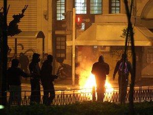 Atina'da Hükümet Karşıtı Gösteri