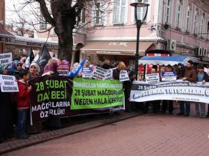 Bartın'da ''Müslüman Tutsaklara Özgürlük'' Eylemi
