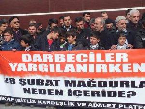 """Tatvan'da """"Müslüman Tutsaklara Özgürlük"""" Eylemi"""