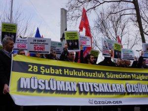 """İstanbul'da """"Müslüman Tutsaklara Özgürlük"""" Eylemi"""