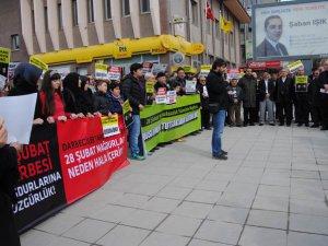 """Çorum'da """"Müslüman Tutsaklara Özgürlük"""" Eylemi"""
