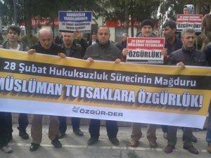 """Sakarya'da """"Müslüman Tutsaklara Özgürlük"""" Eylemi"""