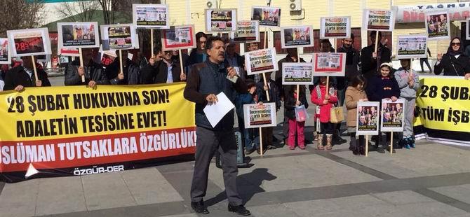 """Ankara Özgür-Der: Darbelere Karşı """"Yaşasın İslami Direniş"""""""
