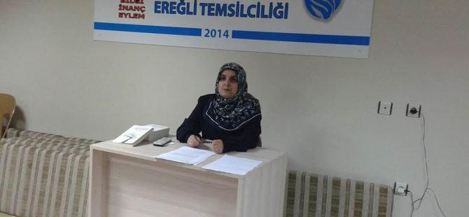 """Ereğli Özgür-Der'de """"Müslüman Kadının Kimliği"""" Konuşuldu"""