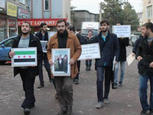 Kayseri'de Erbakan Vakfı'na Ahmedinejad Protestosu