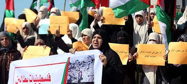 Filistinli Kadınlardan Abluka ve İmar Eylemi