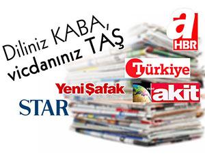 """""""Diliniz KABA, Vicdanınız TAŞ"""" Kampanyasıyla Ortak Tepki"""