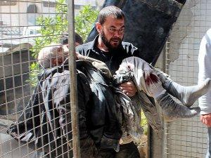 Esed Güçleri Arbin Beldesini Bombaladı