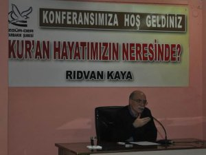 """Diyarbakır'da """"Kur'an Hayatımızın Neresinde?"""" Konferansı"""