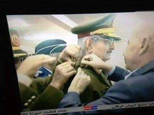 Libya'nın Feshedilmiş Meclisinden Hafter'e Terfi