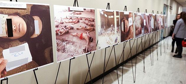 Suriye'deki Vahşetin Fotoğrafları BM'de