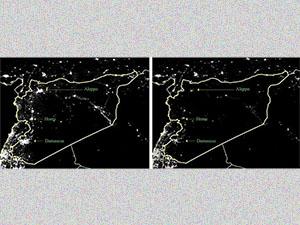 Suriye'de 'Işıklar' Bir Bir Sönüyor