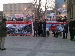 Erzurum'da Suriye Direnişi Selamlandı