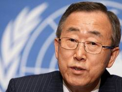 BM Sekreterine Görülmemiş Eleştiri