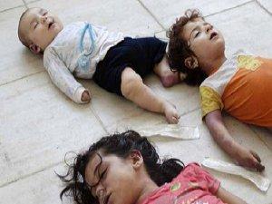 Çocukları Kimyasal Silahlarla Katleden Esed Rejimi (FOTO)