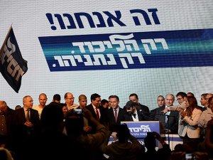 Siyonist İsrail'de Seçimleri Likud Önde Tamamladı