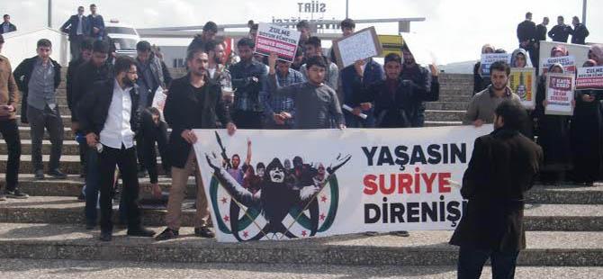 Siirt Üniversitesinden Suriye Direnişine Selam