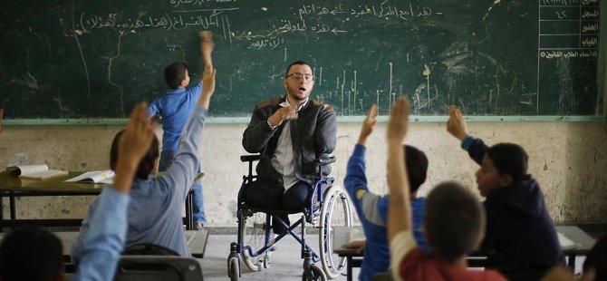 Gazze'de Öğretmen Olmak (FOTO)