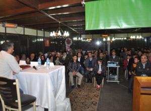 """Siverek Özgür-Der'de """"Dünyada Halepçeler"""" Etkinliği"""