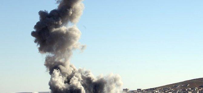 ABD Uçakları Musul'u Bombalıyor!